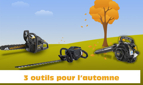 outils automne