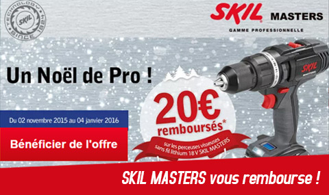 remboursement skil masters