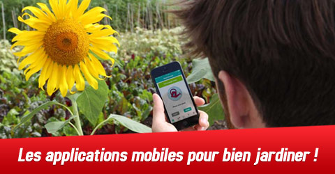 applications mobiles pour jardiner