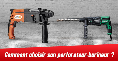 Choisir son perforateur burineur
