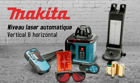 focus produit niveau laser makita skr200z le blog debonix. Black Bedroom Furniture Sets. Home Design Ideas