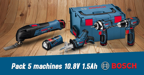 pack 5 machines Bosch